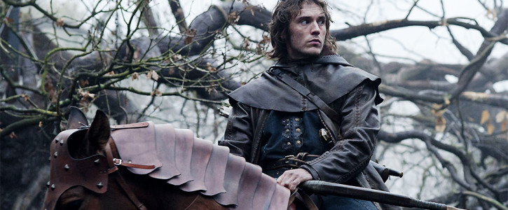 Sam Claflin Returns for 'The Huntsman'