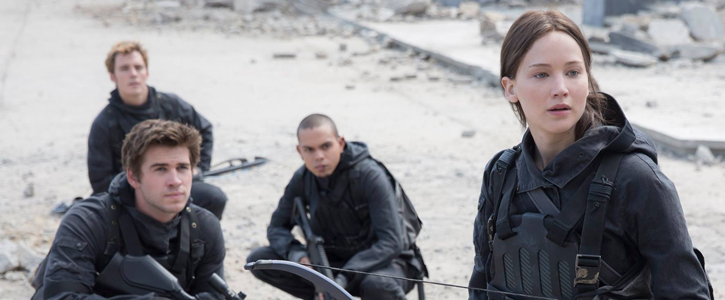 "First Production Still from ""The Hunger Games: Mocking Jay – Part 2"""