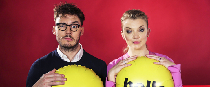 Sam Claflin and Natalie Dormer Visit BuzzFeed