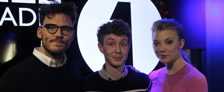 Sam Claflin & Natalie Dormer at The Matt Edmondson Show