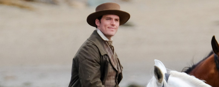 "Sam Claflin On Set of ""My Cousin Rachel"" (May 31, 2016)"